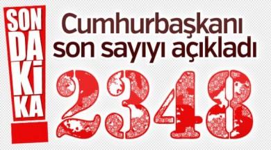 Afrin'de 2348 terörist öldürüldü