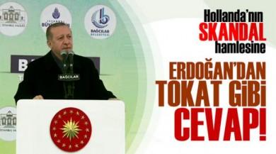 Cumhurbaşkanı Recep Tayyip Erdoğan'dan Hollanda'ya Osmanlı Tıkadı!