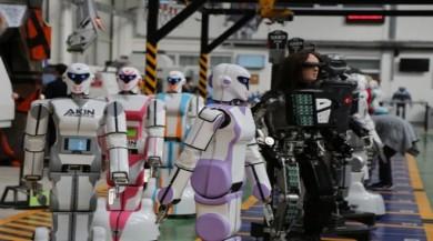 Konya'da kışla nöbetleri için robot yapıldı