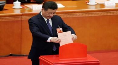 Çin'de başkanlık için iki dönem yasağı kaldırıldı