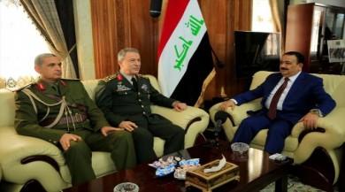 Hulusi Akar Irak'ta