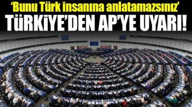 Avrupa Parlamentosu'na Türkiye'den FETÖ ve PKK için Uyarı Mesajı!