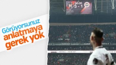 Fenerbahçe defansı Quaresma'yı durduramadı