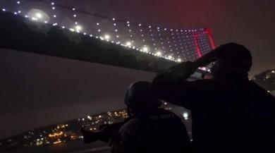 ABD donanmasından Yavuz Sultan Selim Köprüsü paylaşımı