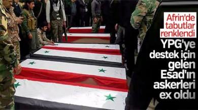 Esad'ın Afrin'e gönderdiği birlik yok edildi