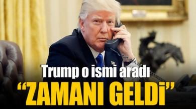 ABD Başkanı Donald Trump Filistin Devlet Başkanı Mahmud Abbas'ı Aradı!