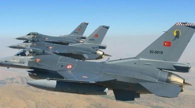 Son dakika... Türk jetleri gece saatlerinde Terör Bölgesine Bombardımana Tuttu