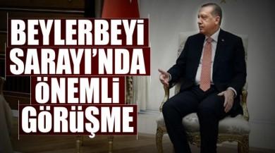 İstanbul Beylerbeyi Sarayında Önemli Görüşme