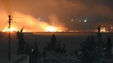 Afrin'de YPG konvoyu vuruldu