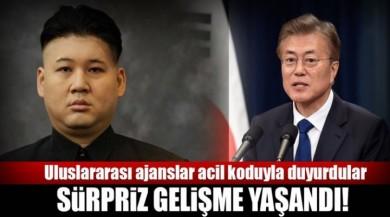 Son dakika: Kuzey-Güney Kore ilişkilerinde yeni gelişme