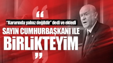 Devlet Bahçeli: Cumhurbaşkanı Recep Tayyip Erdoğan