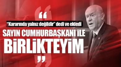 Devlet Bahçeli: Cumhurbaşkanı Recep Tayyip Erdoğan