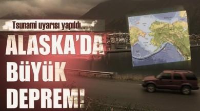 Son dakika haberi... Alaska'da 8,2 büyüklüğünde deprem