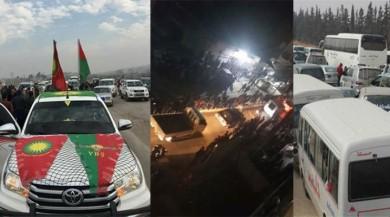 Son dakika... İşte terör konvoyu! Afrin'e gidiyorlar...