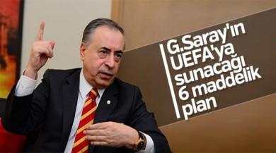 Galatasaray'ın UEFA planı