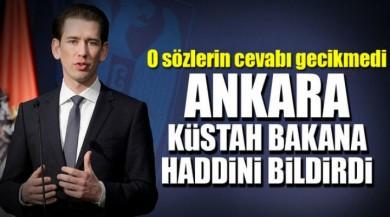 Avusturya Dışişleri Bakanı Sebastian Kurz Yine Haddini Aştı