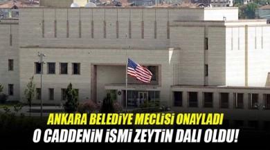 Nevzat Tandoğan Caddesi ARTIK Zeytin Dalı Caddesi oldu