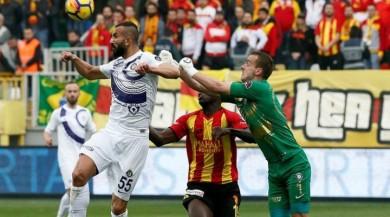 Göztepe - Osmanlıspor 6 gol çıktı maç nefesleri kesti