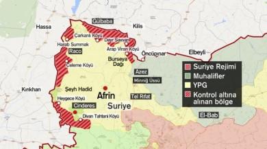 Son dakika haberi... Esad yanlısı gruplar Afrin'de iddiası