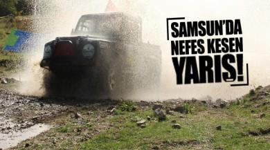 Samsun'da nefes kesen yarış!