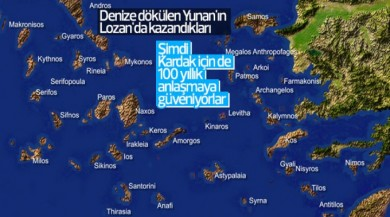Yunanistan Kardak krizinde Lozan'a güveniyor
