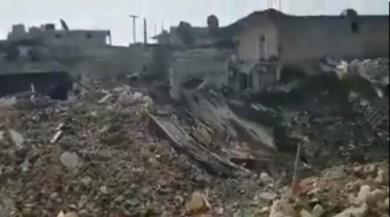 Cinderes havadan ve karadan bombalanıyor