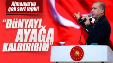 Cumhurbaşkanı Recep Tayyip Erdoğan'dan Almanya'ya Sert Açıklama!