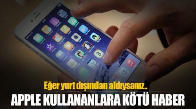 Türkiye'de IPhone Kullananların Dikkatine