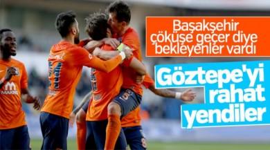 Başakşehir, Göztepe'yi rahat yendi
