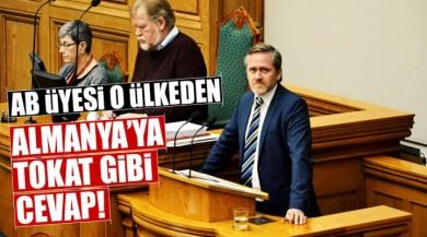 Danimarka Dışişleri Bakanı Anders Samuelsen'den AB'ye Demokrasi Dersi!