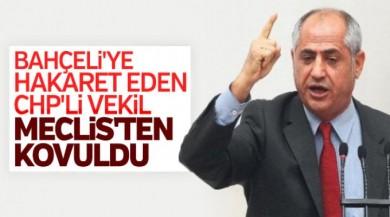CHP'li milletvekili Çam'a Meclis'ten çıkarılma cezası