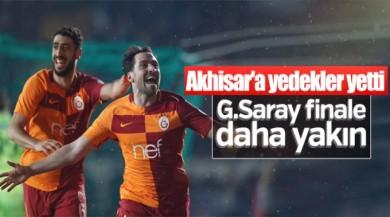 Galatasaray kupada Akhisar'ı yendi