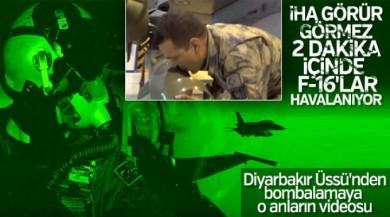 TSK, F-16'ların harekata nasıl hazırlandığını yayınladı
