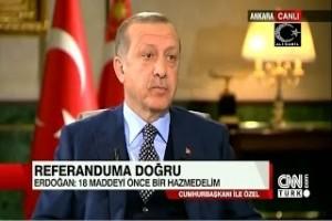 Cumhurbaşkanımız Recep Tayyip Erdoğanın Cnn Türk'deki açıklamaları  23 Mart 2017