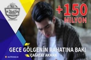 Gece Gölgenin Rahatına Bak -  Çağatay Akman Official  Video